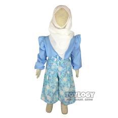 Harga Termurah Grow Baju Tunik Muslim Dan Celana Kulot Setelan Muslimah Anak Childrens Clothes Multiwarna