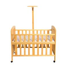 Hakari Baby Bed HK 1008 - Natural - Khusus Jabodetabek