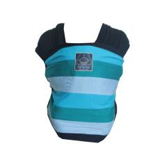 Diskon Hanaroo Babywrap Motif Rainbow Gendongan Bayi Multifungsi Navy Branded