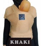 Spesifikasi Hanaroo Babywrap Polos Gendongan Anti Pegal Khaki Bagus