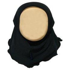 Beli Hanaroo Hijab Bayi Anak Polos Bahan Jersey Ba 02 Black Hanaroo Dengan Harga Terjangkau