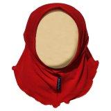 Katalog Hanaroo Hijab Bayi Anak Polos Bahan Jersey Ba 02 Red Terbaru