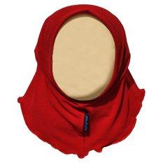 Harga Hanaroo Hijab Bayi Anak Polos Bahan Jersey Ba 02 Red Online