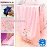 Jual Handuk Bayi Big Size Daya Serap Tinggi Handuk Mandi Hb 01 Pink Baby Leon Online