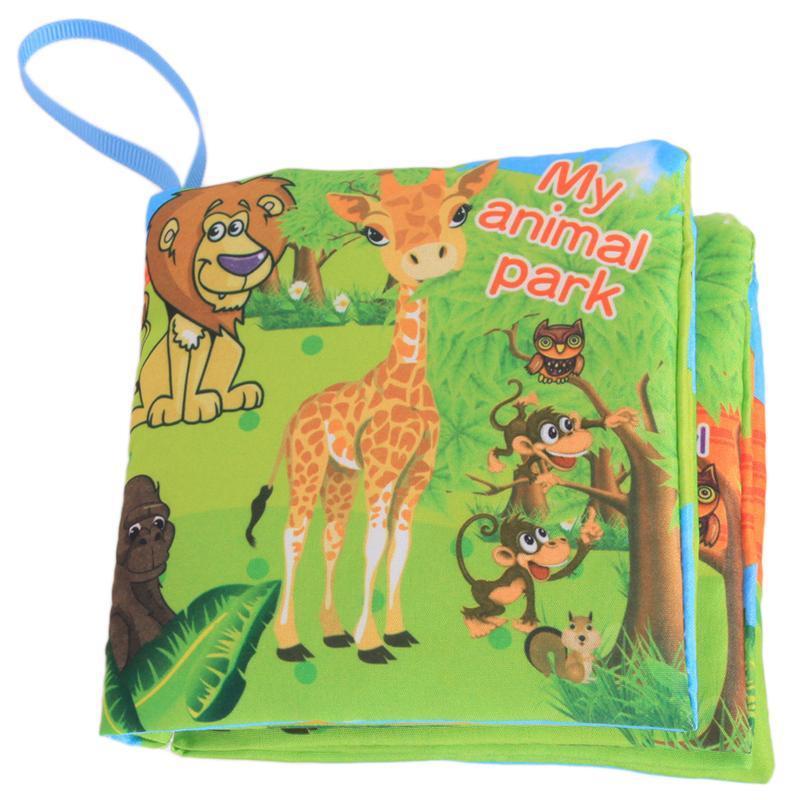 Hang-qiao Bayi Berwarna-warni Pendidikan Awal Book Animal Park Gambar Belajar