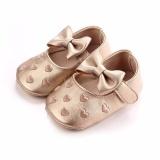 Iklan Hanyu Balita Busana Oddler Firstwalkers Children Prewalker Ikatan Simpul Putri Sepatu Walker Crib Sepatu Emas