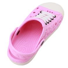Hanyu Anak's Summer Cool Sandal Nyaman Bernapas Lovely Kid's Sepatu Sandal (Merah Muda)