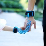 Haotom 2 5 Meter Kid Keeper Bayi Walkers Gulat Sabuk Bayi Wrist Safety Harnesses Untuk Anak Anak Pegangan Elastis Anti Hilang Sabuk Baru Hadiah Tahun Biru Asli