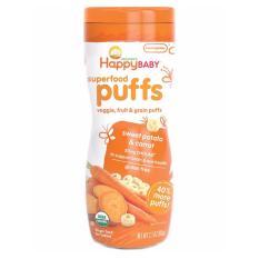 Harga Happy Baby Puff Snack Sweetpotato Carrot Orange Satu Set