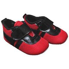 Ongkos Kirim Happy Baby Sepatu Bayi Prewalker Pw 146 Merah Hitam Di Jawa Barat
