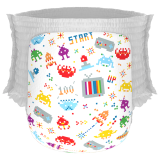 Jual Happy Diapers Pant Popok Bayi 80 S Invader Size M 30 Pcs Online