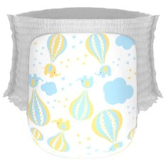 Happy Diapers Pant Popok Bayi - Hot Air Balloons - Size XL - 22 pcs