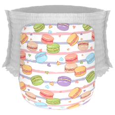 Happy Diapers Pant Popok Bayi Macaroons Size L 26 Pcs North Sumatra