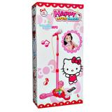 Happy Little Singer Microphone Mp3 Hello Kitty Mainan Anak Cewek Multi Diskon
