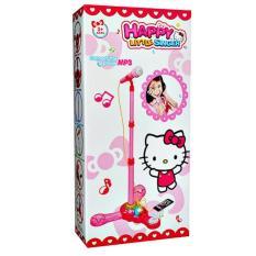 Diskon Happy Little Singer Microphone Mp3 Hello Kitty Mainan Anak Cewek Akhir Tahun