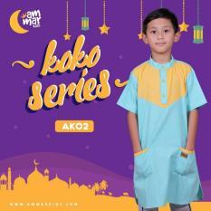 Harga Grosir Baju Koko Anak Laki-Laki - AK 02 Murah