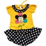 Spesifikasi Harpoon Baju Bayi Perempuan Bunga Kuning Polkadot Harpoon Terbaru