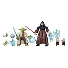 Beli Hasbro Star Wars Hero Mashers Yoda Vs Emperor Palpatine Yang Bagus
