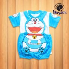 Hayami Baju Kodok Bayi Doraemon Bulat