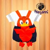 Review Toko Hayami Baju Kodok Bayi Funny Bird Hitam