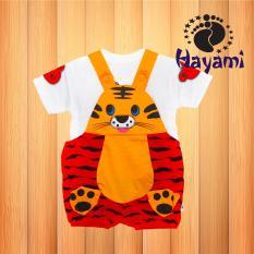 Iklan Hayami Baju Kodok Bayi Macan Loreng Merah