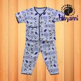 Jual Hayami Baju Piyama Bayi Sapi Bentol Biru Branded Original