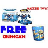 Miliki Segera Hazzid Tobot Mini Y Transform Robocar Mainan Anak Free Celengan