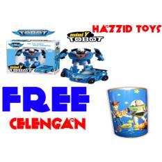 Beli Hazzid Tobot Mini Y Transform Robocar Mainan Anak Free Celengan Terbaru