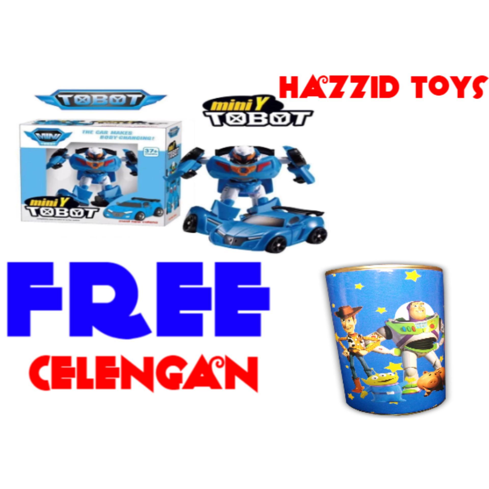 Harga Preferensial Hazzid Tobot Mini Y Transform Robocar Mainan Anak