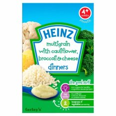 Spesifikasi Heinz Dinners Multigrain Cauliflower Broccoli Cheese 125 Gr Baru