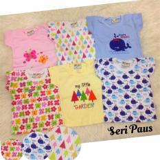 Harga Hello Baby Paket 6In1 Kaos Bayi Paus 3Month 3Tahun Termurah