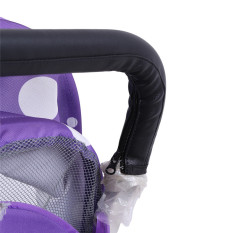 Harga Hengsong Anti Bakteri Kereta Dorong Bayi Kulit Buatan Dorong Sandaran Tangan Penutup Case Pelindung Hitam Fullset Murah
