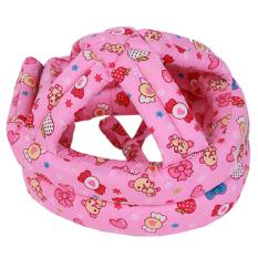 Situs Review Hengsong Mencegah Benturan Helm Keamanan Bayi Topi Bayi Mencegah Jatuh Hat Mawar