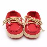 Katalog Hequ 1 Pair Baby Boy G*rl Crib Lembut Bawah Sepatu Bayi Balita Sepatu Sneaker Fit 18 Bulan Merah Intl Hequ Terbaru