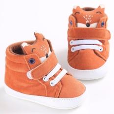 Spesifikasi Hequ Fashion Newborn Baby Boy Kids Prewalker Shoes Fox Infant Toddler Crib Soft Bottom Anti Slip Sneakers Orange Intl Lengkap Dengan Harga