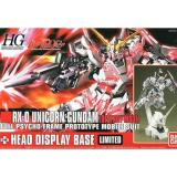 Toko Hg Hguc Rx Gundam Unicorn Destroy Mode Head Display Base Limited Di Banten