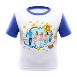Harga Hi 5 Bebelac Glowing T Shirt Biru Terbaik