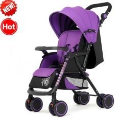 Beli Kelas Tinggi Folding Beroda Empat Shockproof Baby Carriage Intl Kredit