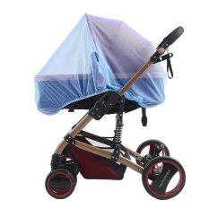 Kualitas Tinggi Khusus Kereta Dorong Bayi Kelambu Bayi Meningkatkan Enkripsi Universal Mobil Penuh Menutupi Setengah Jala Penjaga Biru