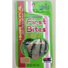 Hikari First Bites 10 Gram Pakan Ikan Hias Yg Baru Lahir