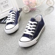 Harga Hitam Dan Putih Anak Laki Laki Dan Perempuan Renda Sepatu Sepatu Kasual Anak Anak Baru Murah