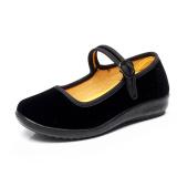 Jual Hitam Kecil Beijing Tua Hitam Gadis Panggung Tari Sepatu Sepatu Kain Import
