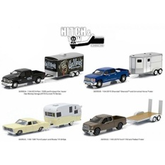 Hitch & Tow Series 5 Set of 4 1/64 by Greenlight 32050 SET - intl