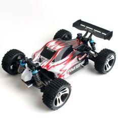 Hobbymall Rc Buggy Vortex A959 Wl Toys 1:18 Scale 4Wd (Merah) - E3D957 - Original Asli