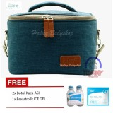 Berapa Harga Hokky Babyshop Bka Cooler Bag Starter Kit Tas Penyimpan Asi Gratis Ice Gel 420Gr Dan 2 Botol Kaca Thermal Bag Biru Bka Di Indonesia