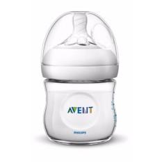Hokky Babyshop Philips Avent Botol Asi Susu Bayi 125 ml (isi 1pc) Putih / Bottle Natural 125ml Single Pack New Design with Extra Soft Teat
