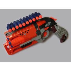 Holder Peluru/Amunisi/Dart/ Nerf Gun Custom 10 Slot - 0Ilcps