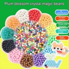 Mainan Buatan Sendiri Air Beads Puzzle Jigsaw (wintersweet Paket)-Intl By Super Babyyy.