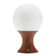 HONGHUI Jamur Kayu Grain Colorful Night Light PortableSiliconeLED Lampu Malam dengan Hangat Putih. 7-Color Flashing dan 3 OptionalTimer Hadiah Terbaik untuk Kamar Bayi. Kamar Tidur. Nursery. Outdoor (Coklat)-Intl