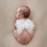 Toko Panas 12 Bulan Bayi Baru Lahir Bayi Lucu Bulu Sayap Malaikat Foto Fotografi Alat Peraga International Oem